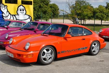 L'ex 964 RS orange de Philippe Aunay