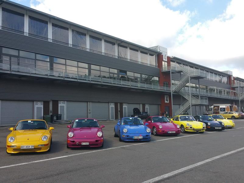Les RS au paddock