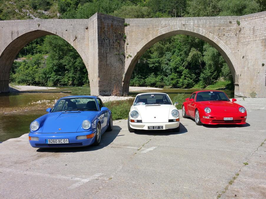 2.7 RS, 964 RS et 993 RS , le Club affiche les couleurs !