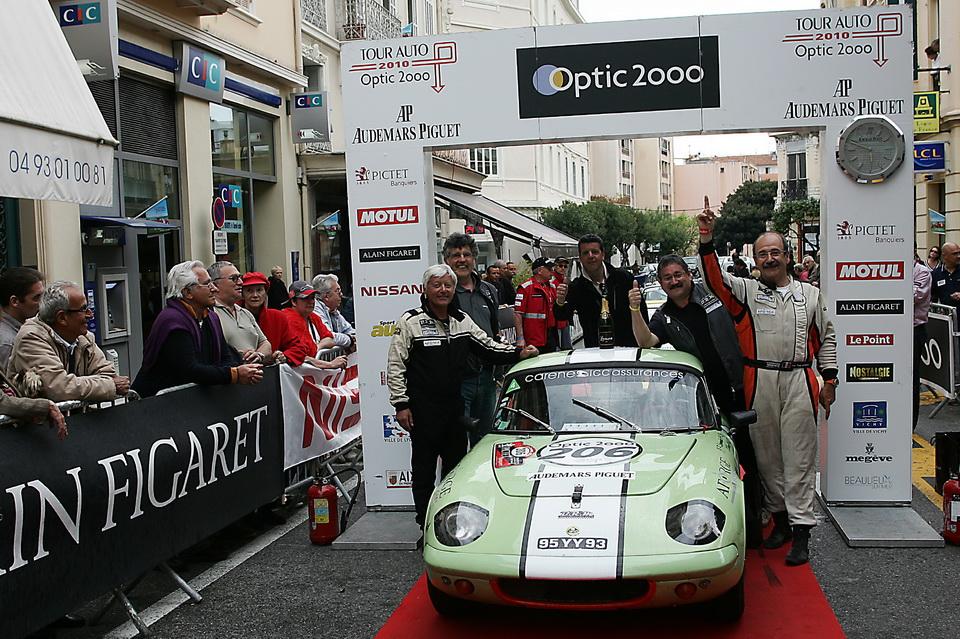 Vainqueur du Tour Auto 2010