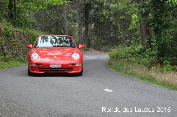 La 993 RS, tranquille avec les 2.7 RS
